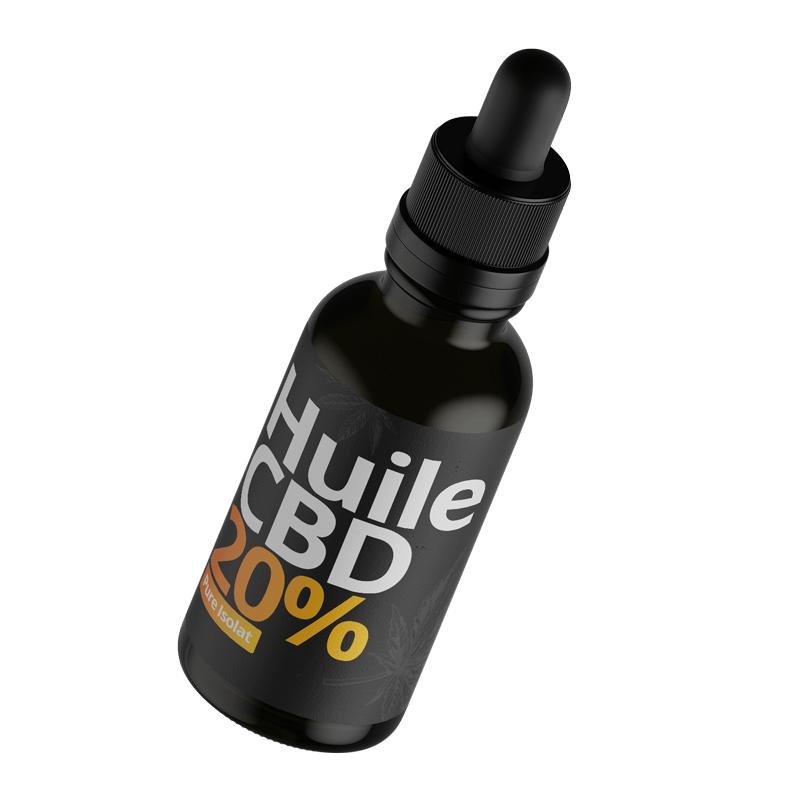 Acheter huile CBD isolat 20 % (2000 mg)