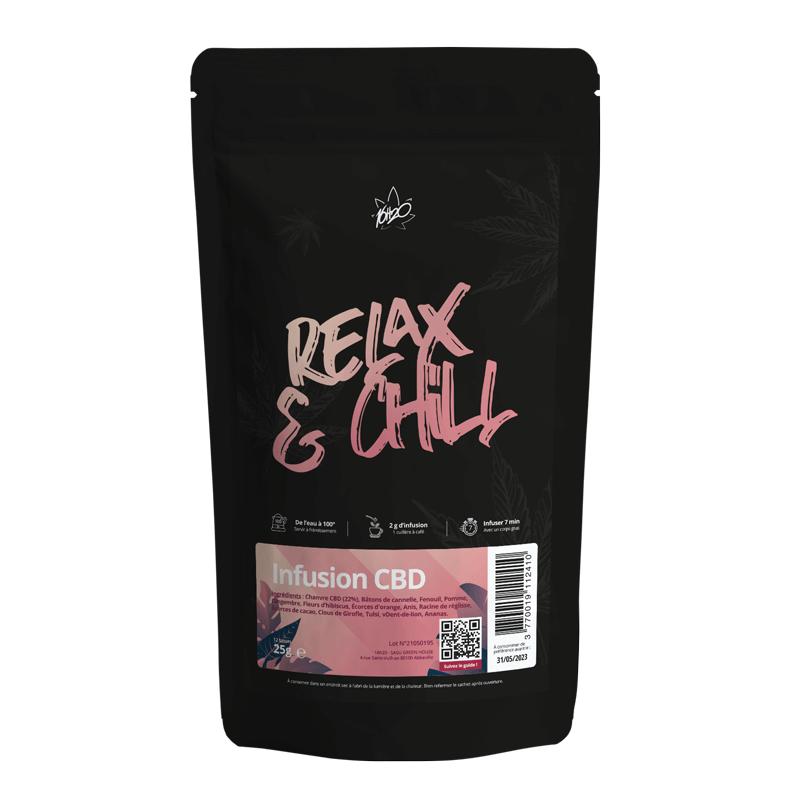 Acheter infusion CBD Relax & Chill