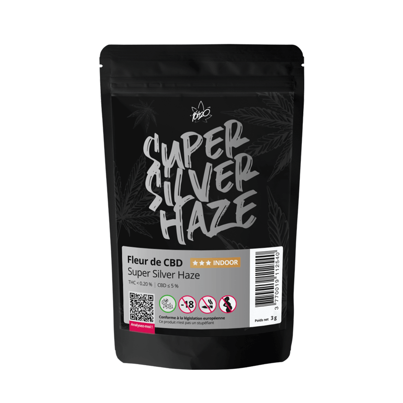 Acheter fleur CBD Super Silver Haze
